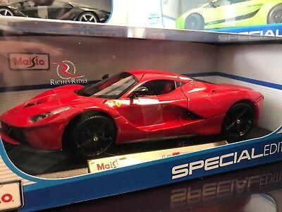 *SALE* Maisto 1:18 Scale Special Edition Diecast Model - Ferrari LaFerrari (Red)
