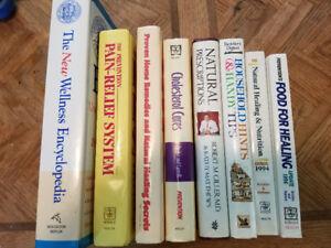 Health and wellness books (lot 4)