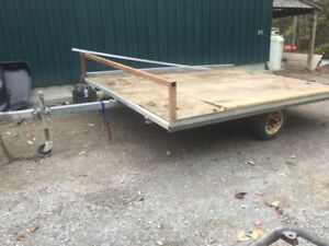 Used trailers, one double skidoo one utility. $500 each
