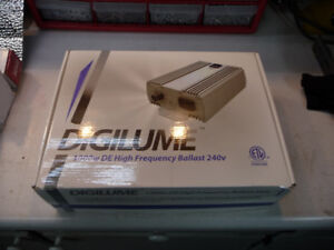 240 V 1000 Watt Double-Ended HPS Grow Light and Ballast