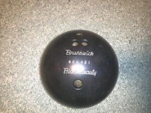 Bowling ball black beauty brunswick