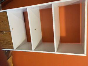 Cabinet with safe lock