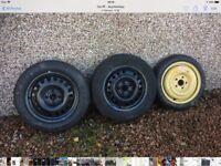 Wheels with good tyres