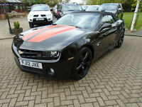 2012 Chevrolet Camaro RS 3.6 V6 MANUAL Covertible LHD 320bhp (15000 Miles !!)