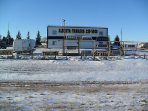 New and used Canopies at Alberta Trailers and Truck Canopies