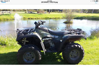 2004 ARCTIC CAT 400 4 X 4 with NEW  PLOW