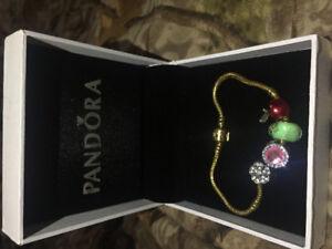 7.9 inch Gold Pandora Bracelet
