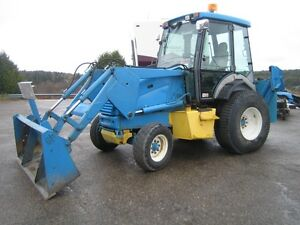 ford new holland skip loader
