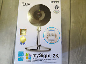 iluv mysight 2k camera IP surveillance  neuve
