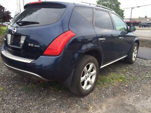 2006 Nissan murano safety and E-test include