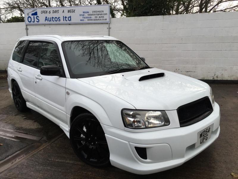 Subaru 2005 Forester Sti 2 5 Jdm Import Petrol Manual
