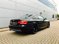 2007 57 reg BMW 325 M Sport Coupe + AUTO + BLACK + Nice spec