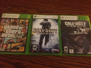Selling 3 xbox 360 games $10 each
