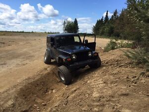 2006 jeep tj.  Trades considered