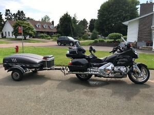 Want to trade 07 Honda Goldwing and Trailer for Motorhome