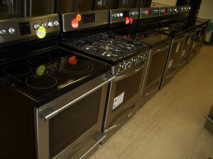 GAS, FLAT TOP, AND COIL RANGES IN ALL FINISHES! NEW AND USED!