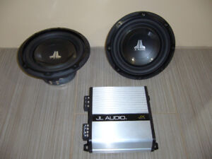 JL Audio Sub-woofers and Amp