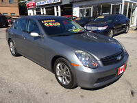 2006 Infiniti G35x AWD SEDAN...ONLY 114,000 KMS...MINT PERFECT C City of Toronto Toronto (GTA) Preview