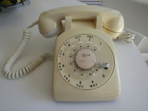 Vintage Northern Electric Rotary Dial Telephone