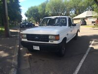 1990 F-150 4x4 auto needs tranny work or used as parts truck
