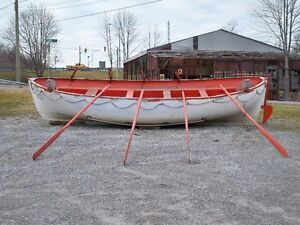 life boat and oars London Ontario image 2
