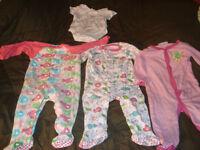 Vêtements de fille de 12 mois à 2 ans 1$ le morceau
