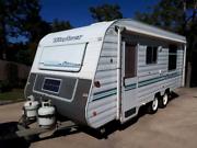 Windsor Streamliner Caravan Mothar Mountain Gympie Area Preview