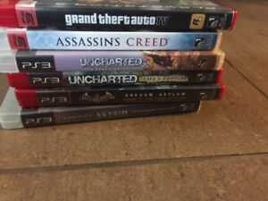 Ps3 plus games, 2 controllers
