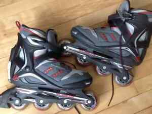 Men's size 9 Rollerblades. Excellent condition