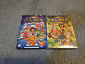 Digimon - Complete Season 1 and Season 2 DVD Sets