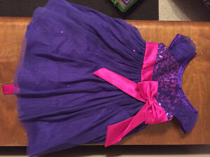 Purple/pink Toddler Dress