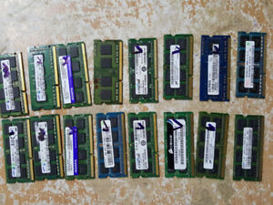 PC2-6400 DDR2 800 Mhz 4GB Laptop Mmeory for sale