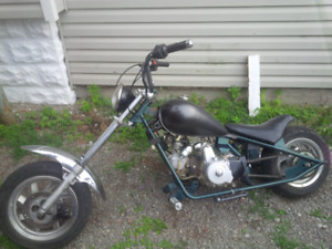 Fully redone 110cc mini chopper