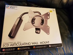 LCD Articulating  Wall Mount for TV - New