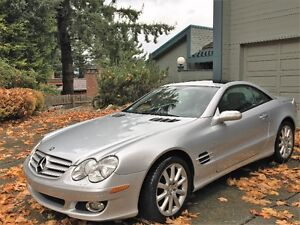2007 Mercedes-Benz SL-Class 5.5L V8 Coupe (2 door)