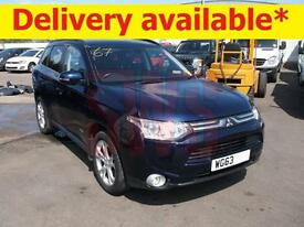2013 Mitsubishi Outlander GX 4 DI-D 2.3 DAMAGED REPAIRABLE SALVAGE