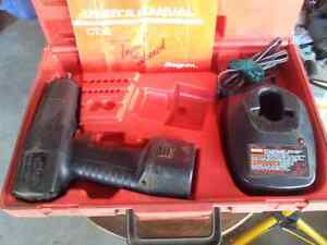 Cordless 3/8 Snap on impact wrench