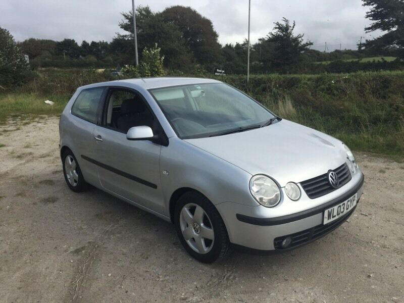 volkswagen polo sport 1 4 tdi 3dr silver 2003 in newquay cornwall gumtree. Black Bedroom Furniture Sets. Home Design Ideas