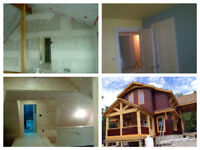 HOUSE STAINING & PAINTING INTERIOR & EXTERIOR, DRYWALL & TAPING