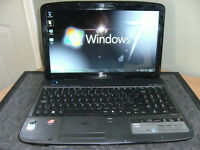 Acer Aspire 5536 Core Duo  (Purple)    Reduced !!!