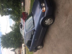1999 Toyota Tercel free delivery within $100 km
