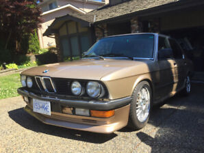 1988 BMW 5-Series Sedan