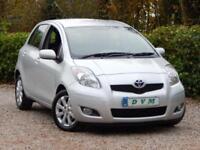 2011 11 TOYOTA YARIS 1.3 T SPIRIT MM VVT-I 5D AUTO 99 BHP