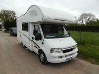 swift 590 RS 5 Berth Motorhome