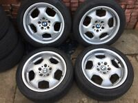 Bmw e36 m3 evo contour alloy wheels 17x8