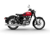 Royal Enfield classic 500 Redditch collection in 3 colours Red,Green,Blue