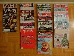 32 House and Cooking Magazines