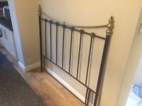 Metal headboard - Kins Size bed