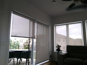 Lot toile fenêtres 3% solaire