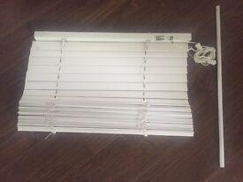 White wooden Venetian blind - bargain price